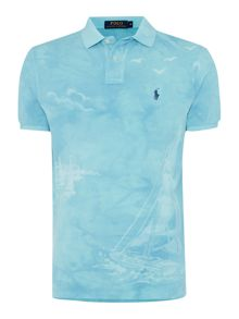 Polo Ralph Lauren Custom-Fit Faded Boat Graphic