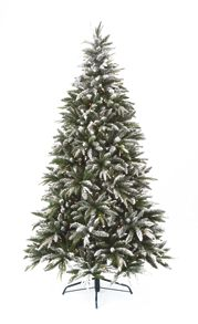 Linea 6ft Pre Lit Flocked Whistler Tree