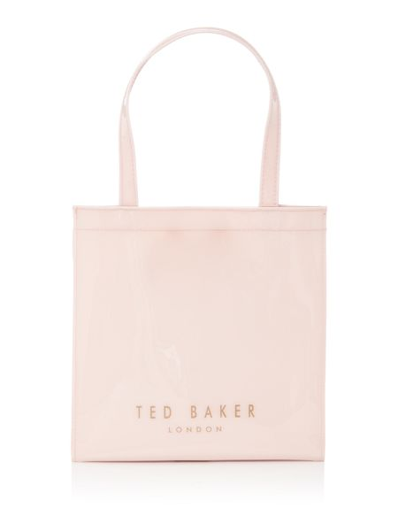 Ted Baker Minacon neutral small bow tote bag