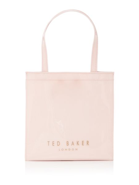 Ted Baker Elacon neutral large bow tote bag