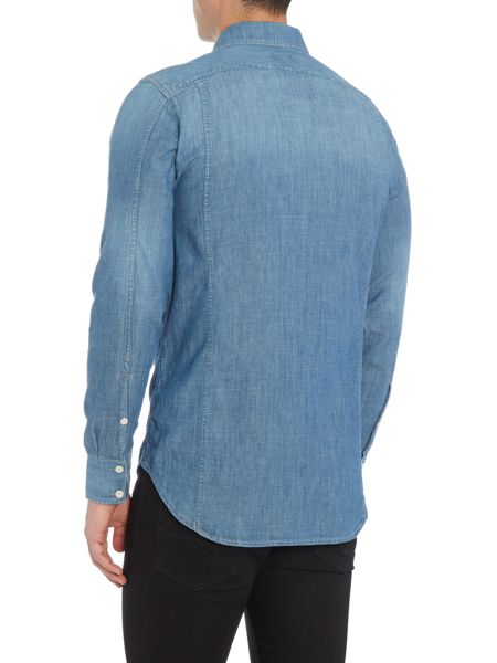 G-Star 3301 Lightweight Denim Long Sleeve Shirt