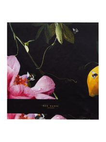 Ted Baker Catori citrus bloom long silk scarf