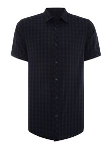 G-Star Landoh Clean Gingham Check Short Sleeve Shirt