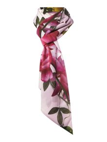 Ted Baker Kayee citrus bloom skinny scarf