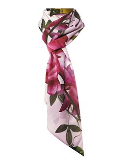 Kayee citrus bloom skinny scarf