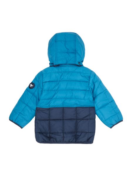 name it Boys  Contrast Colour jacket with hood