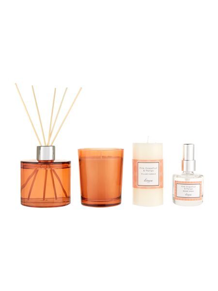 Linea Pink Grapefruit & Mango Luxury Gift Set