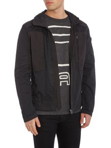 G-Star Powel Zip Through Funnel Neck Overshirt