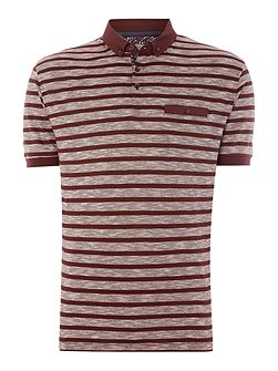 Rouleau Stripe Polo Shirt