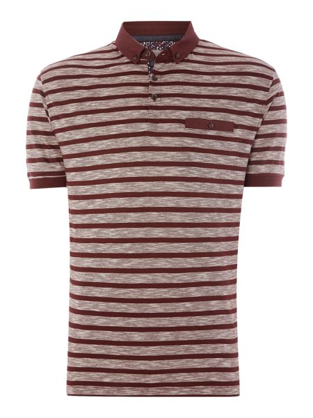 Linea Rouleau Stripe Polo Shirt
