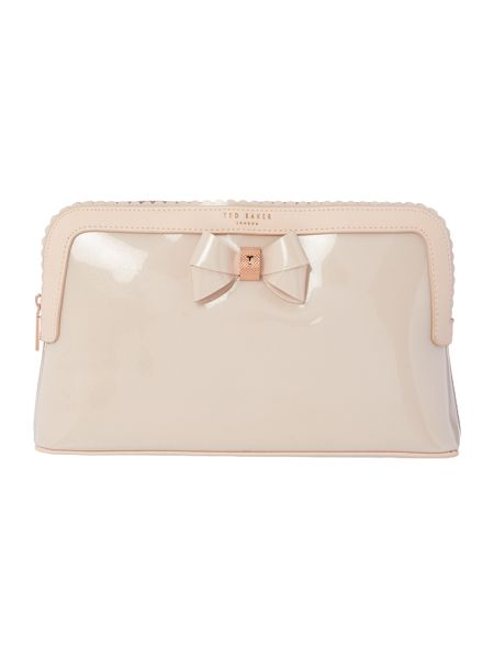 Ted Baker Ardith pink large cosmetic bag