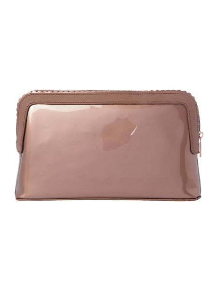 Ted Baker Ardith rose gold large cosmetic bag