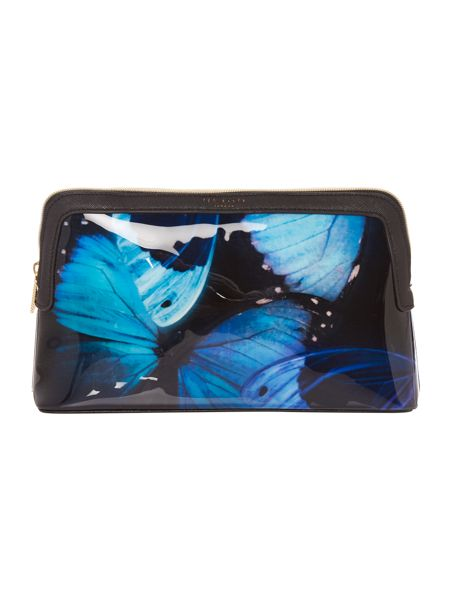 Ted Baker Cenlore multicolour large makeup bag