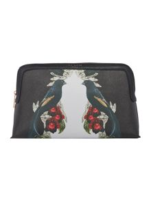 Ted Baker Elanno multicolour large makeup bag
