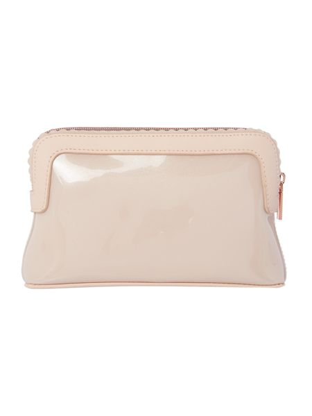 Ted Baker Elden pink small bow cosmetic bag