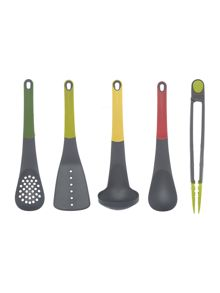 Joseph Joseph Elevate Utensils 5-Piece Box Set with Tongs