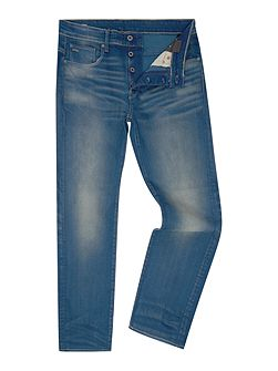 3301 Firro Loose Fit Stretch Mid Wash Jeans