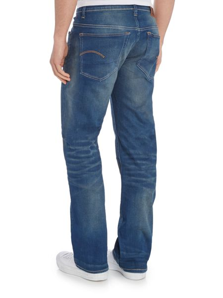 G-Star 3301 Firro Loose Fit Stretch Mid Wash Jeans