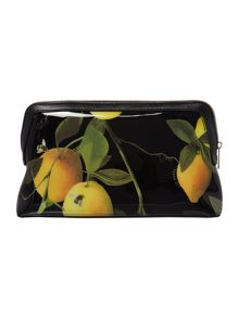 Ted Baker Januar black large makeup bag
