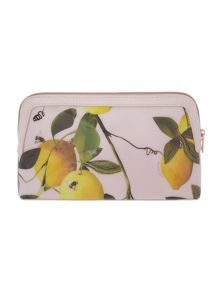 Ted Baker Januar pink large cosmetic bag