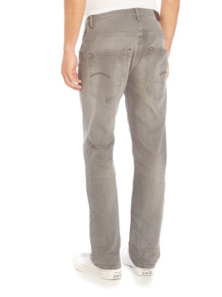 G-Star Radar Loose Fit Stretch Accel Grey Med Aged Jeans