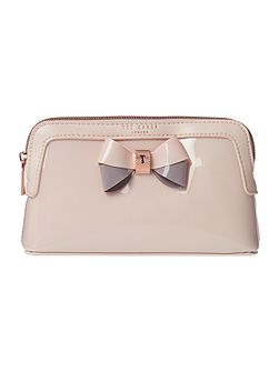 Rosamm light pink small cosmetic bag