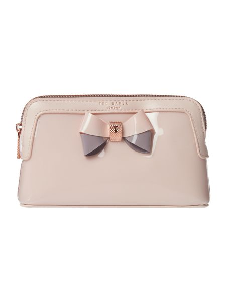 Ted Baker Rosamm pink small cosmetic bag