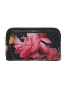 Ted Baker Thao black small cosmetic bag