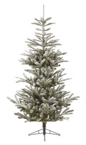 Linea 6ft Anzere Flocked Fresh Snow Fir Tree