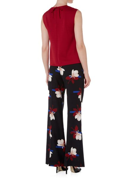 Sportmax Code Fiacre sleeveless ribbed floral top