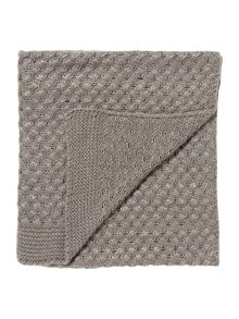 Linea Glitter knit throw