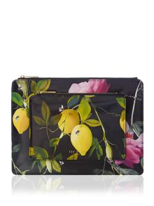 Ted Baker Eveley multicolour double clutch
