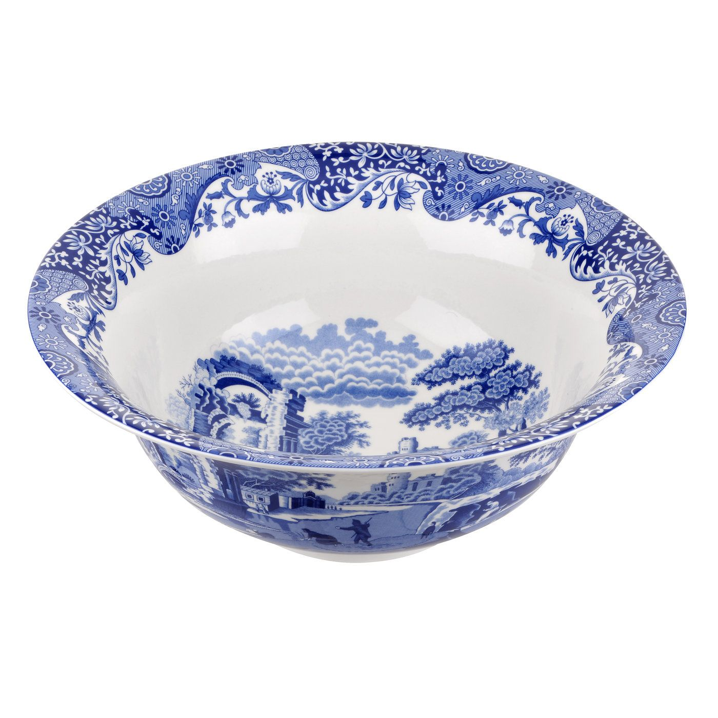 Image of Spode Blue Italian 200th Anniversary Bowl