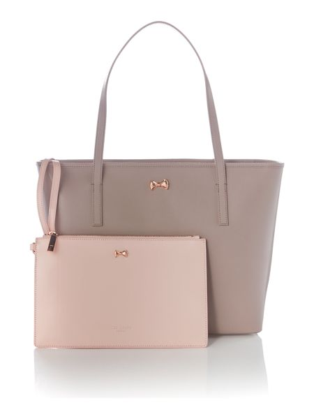 Ted Baker Artina taupe large tote bag