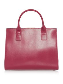 Ted Baker Laurena purple tote bag