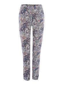 Soaked in Luxury Paisley Print Trousers
