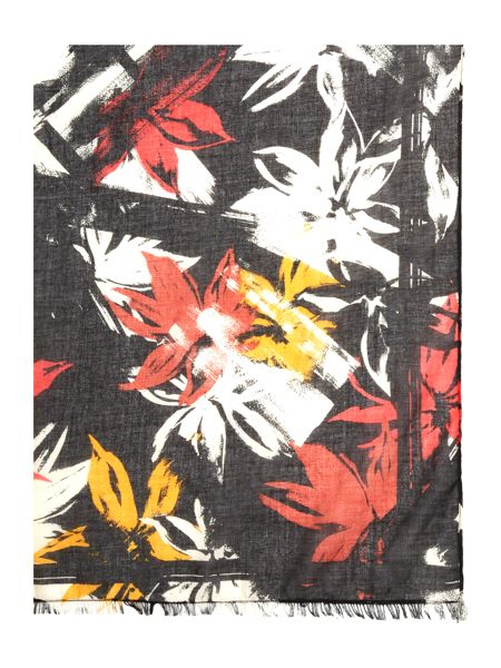Therapy Floral Print Scarf