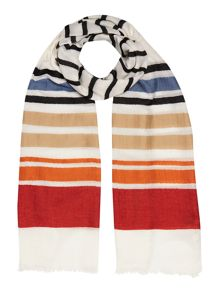 Dickins & Jones Stripe Print Scarf