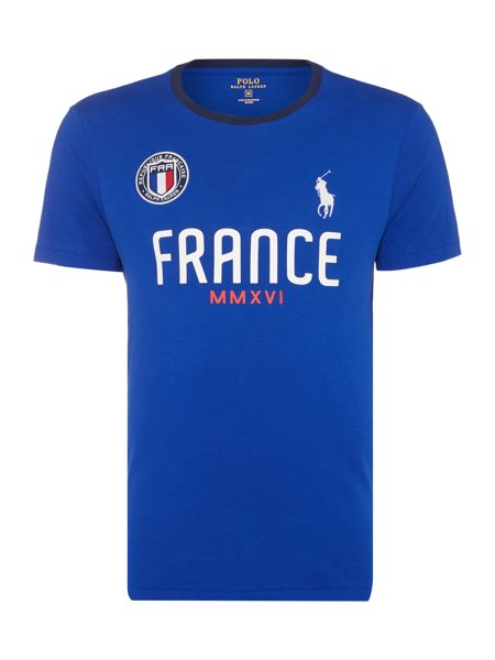 Polo Ralph Lauren Countries Of The World France Tee