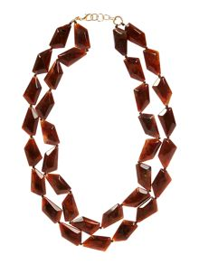 Marella Aureo chunky beaded necklace