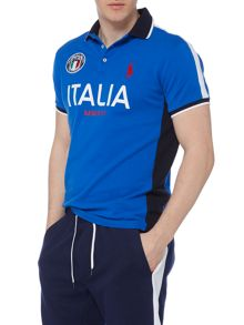Polo Ralph Lauren Custom Fit Italy mesh polo