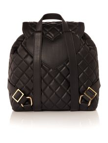 Love Moschino Super quilt black backpack