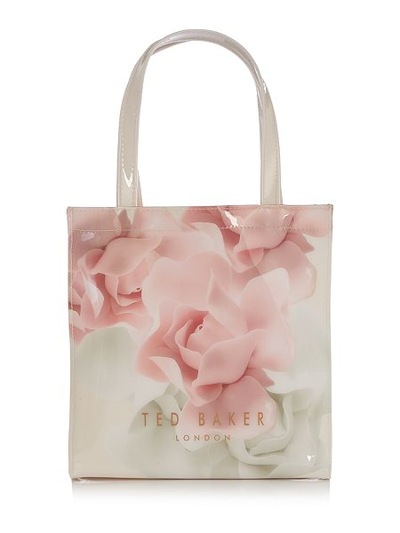 ted baker kitacon light pink small tote bag house of fraser. Black Bedroom Furniture Sets. Home Design Ideas