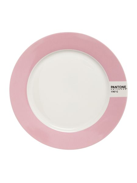 Pantone Small plate luca trazzi pink