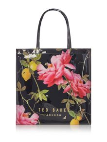 Ted Baker Lemcon black large tote bag