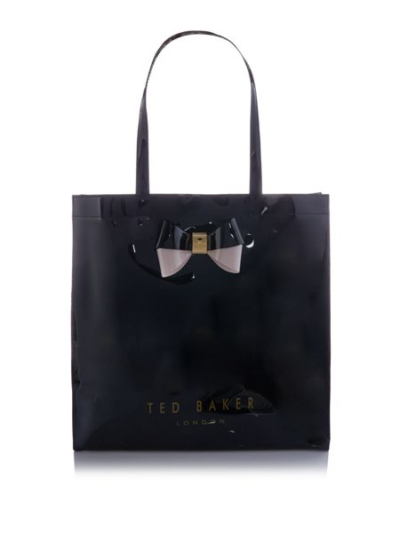 Ted Baker Elacon black large tote bag