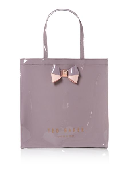 Ted Baker Elacon grey large tote bag