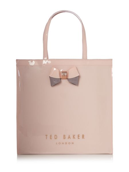Ted Baker Elacon pink large tote bag
