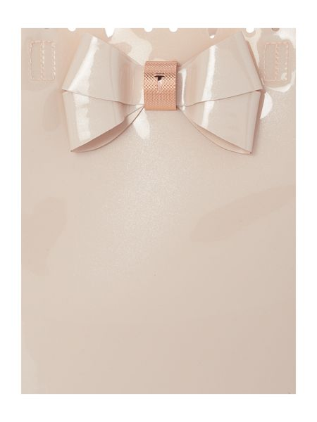 Ted Baker Belacon pink cutout large tote bag