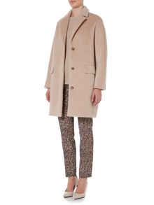 Max Mara Orlo button up alpaca coat